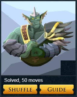 Slide puzzle solver